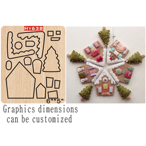 Image 1 - Dekoracje świąteczne wykrojniki 2019 nowe wykrojniki i drewniane formy odpowiednie do zwykłej maszyny do cięcia matryc na rynku