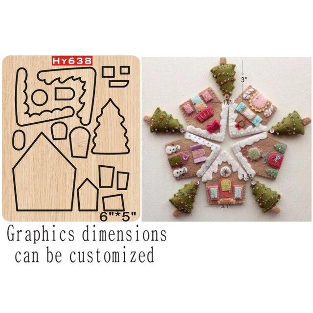 Dekoracje świąteczne wykrojniki 2019 nowe wykrojniki i drewniane formy odpowiednie do zwykłej maszyny do cięcia matryc na rynku