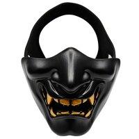 Surwish Battleground Teufel Muster Halbe Gesicht Schutz Maske Taktische Maske für Nerf/für Airsoft Halloween-in Spielzeugpistolen aus Spielzeug und Hobbys bei