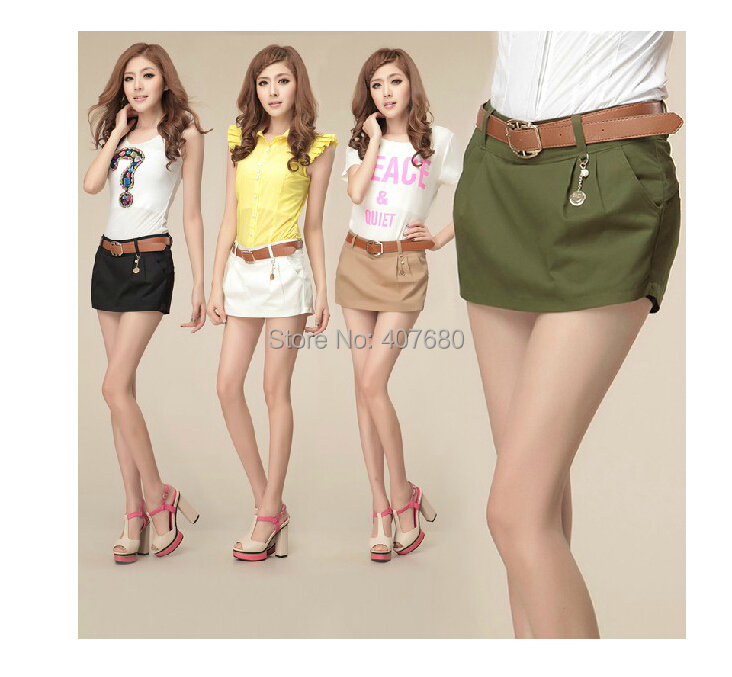 2014 summer womens fashion casual cargo shorts elegent