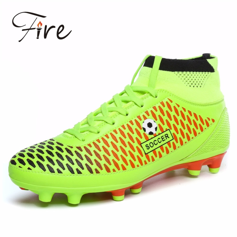 Free Shipping 2016 hotest boy Soccer Shoes ,men outdoor Sports football boots ,Trendly athletic men shoes