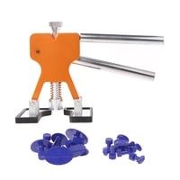 Car Body Paintless Dent Lifter Repair Tool Puller + 18 Tabs Hail Removal Tool
