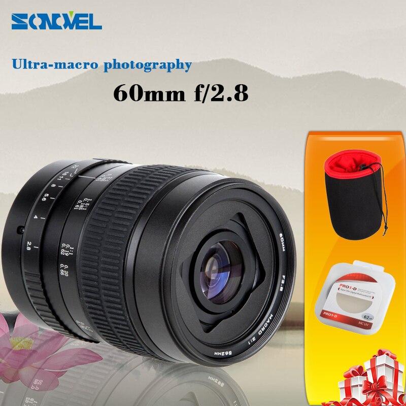 60mm f/2.8 2:1 Super Macro Manual Focus lens for Canon EOS EF 750D 700D 70D 5DII 60mm f 2 8 2 1 2x super macro manual focus lens for nikon f mount d7200 d5500 d760 d610 d90 camera