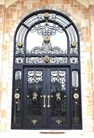 wrought iron single gate designs wrought iron front door hardware
