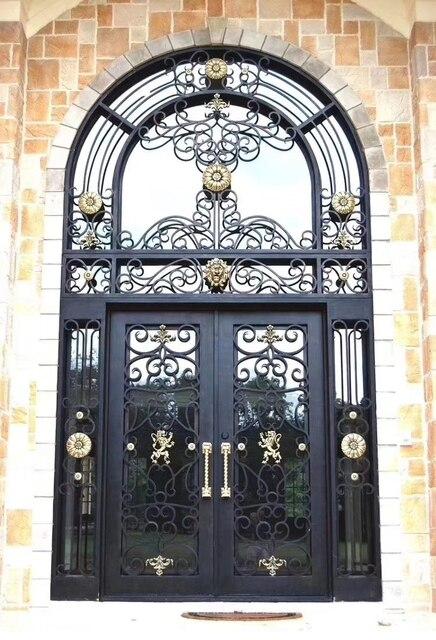 Wrought Iron Single Gate Designs Front Door Hardware