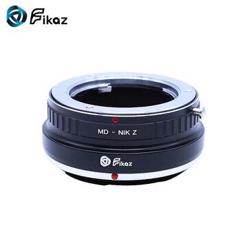 Fikaz para MD-Nikon Z anillo adaptador de montura de lente para Minolta MD MC lente a Nikon Z montaje Z6 Z7 Cámara