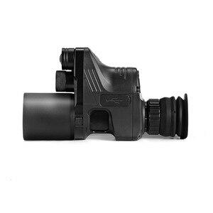 Image 2 - Free Shipping NV007 200m Infrared Night Vision Telescope Hunting Night Vision Set Sight Digital IR Monocular Rifle scope