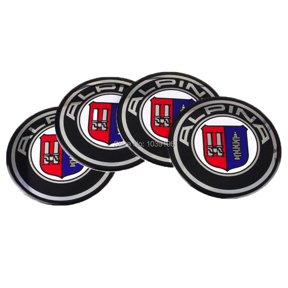 Alpina Logo Wheel Center Hub Cap Badge Emblem Sticker Decal Car Auto 56mm