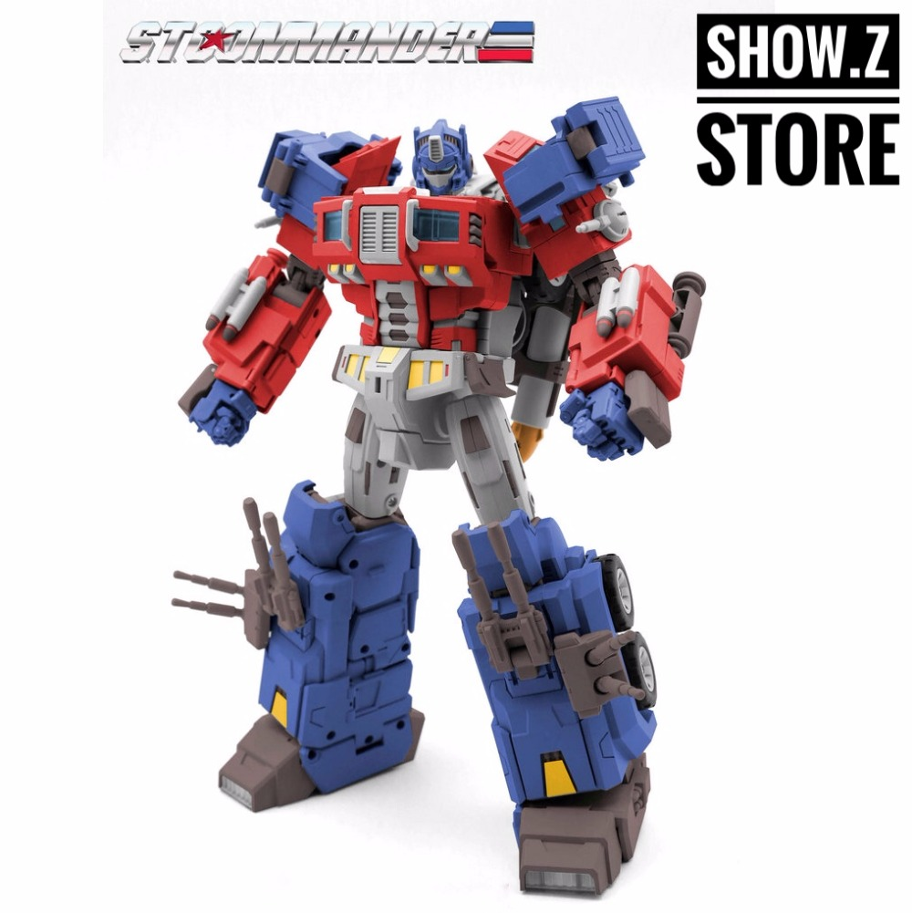 [Show. Z Store] TFC Toys STC-01A Supremo Techtial Comandante OP Originale Versione Trasformazione Action Figure
