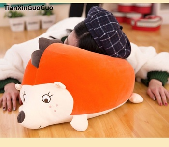 new arrival cartoon Hedgehog large 60cm soft cotton plush toy throw pillow birthday gift h1007