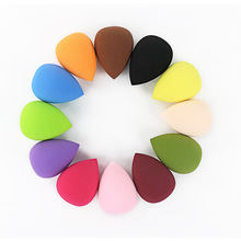1pc Colorful Dry and Wet use Silicone Sponge Makeup Blender Cosmetic Powder Puff