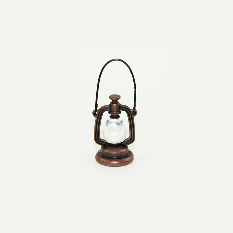 1Pc 1:12 1:6 Dollhouse miniature retro oil lamp doll house accessories toysWW