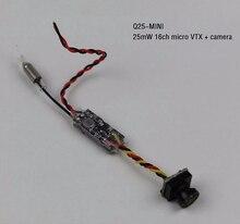 Q25-MINI Ultra Light Mini 25mw 16CH Micro FPV Camera & VTX Combo Video Image Transmission Combo