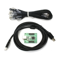 New USB To Jamma Arcade Controller Arcade Parts For 2 Player Game Joystick Arcade Control Board