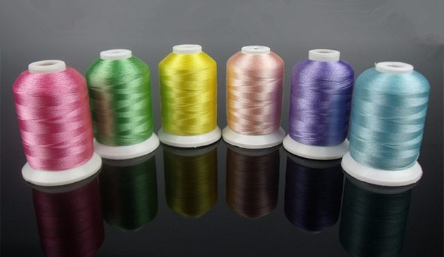 Online Shop 61 Brother Colors 100 Polyestery Embroidery Thread
