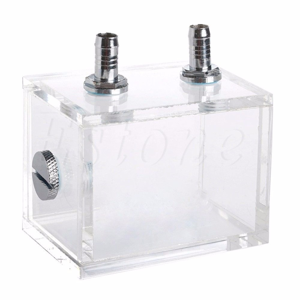 New 200ML Acrylic Liquid Water Cooled Brushless Pump Tank For CPU Water Cooling Cooler C26