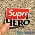 [Supremo HERÓI] Estilo Do Carro JDM Graffiti Etiqueta do Logotipo Da Marca de Moda À Prova D' Água Da Motocicleta Bicicleta Laptop Bagagem Decalques Skatboard