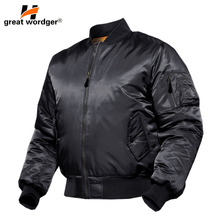 MA1 Army Force Pilot Jacket Military Airborne Flight Hiking Tactical Bomber Jacket Men Winter Warm Motorcycle Down Coat все цены