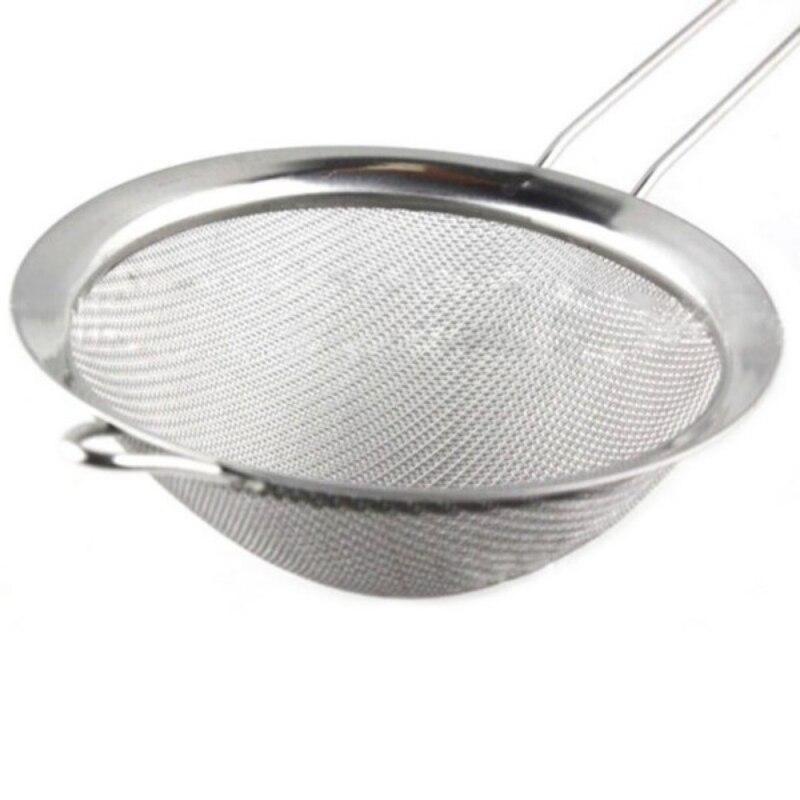 Hi q Acero inoxidable Alambres filtro de aceite de malla fina harina tamiz  colador 2662d457a90d