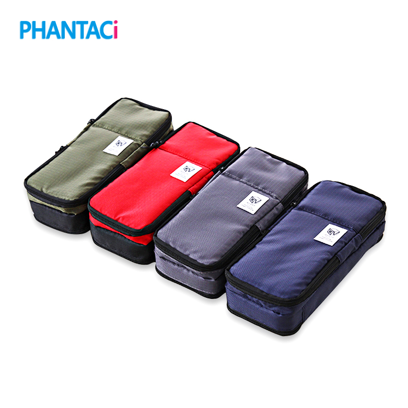 High Quality Canvas Large Capacity Multifunction Pencil Case Boys and Girls Student Stationery Pen Curtain Bags Box Suppl big capacity high quality canvas shark double layers pen pencil holder makeup case bag for school student with combination coded lock