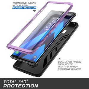 Image 5 - SUPCASE For Samsung Galaxy Note 9 Case UB Neo Full body Protective Dual Layer Armor Marble Case With Built in Screen Protector