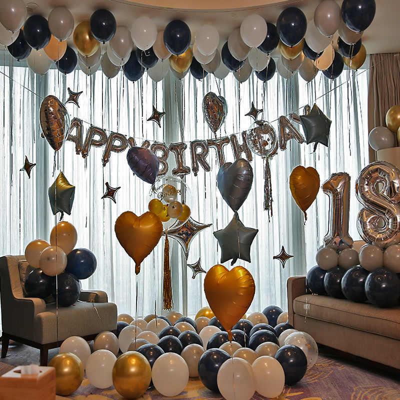 Dekorasi Pesta Ulang Tahun Orang Dewasa Perak Selamat Ulang