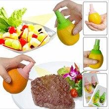 2Pcs/set Creative Lemon Fruit Juicer Spritzer