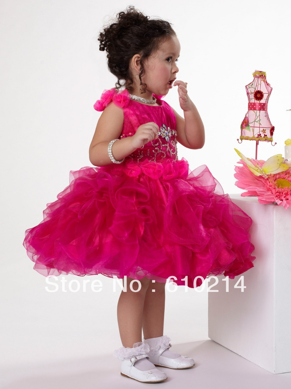 Cheap Fuschia Dresses for Girls