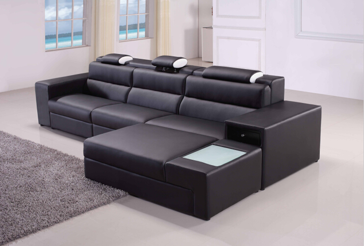 Aliexpresscom Buy Sectional Sofa Leather Corner Sofas