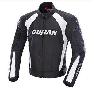 Image 1 - Duhan Мужская куртка с 5 защитными шестернями для мотокросса, полная защита корпуса, водонепроницаемые куртки D089