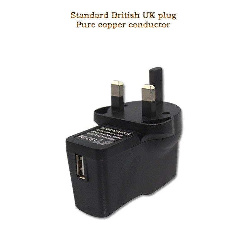 Universal cib telefonu şarj cihazı UK UK PLUG USB şarj cihazı - Cib telefonu aksesuarları və hissələri - Fotoqrafiya 2