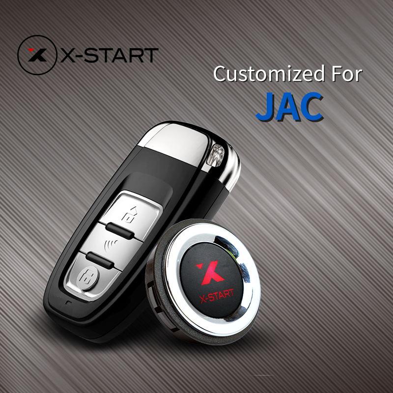 X-démarrage Sans Clé Smart Key Go Sans Clé Entrée démarrage À Distance Push Botton pour JAC S5 S2 S3 M4 iEV5 M3 EV4 EV3 EV7