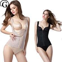 33f6e604c6488 Women Body Shaper Underwear Slimming Vest Corset Shapewear girdle hook  waist belly shape lift bra underbust Tank Top