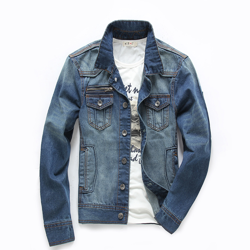 Mens Cheap Denim Jacket - JacketIn