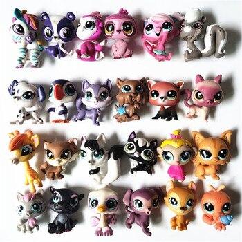 4-6 см маленький lol ПЭТ милые животные куклы ПВХ кролик лошадь собака кошка птицы мини-магазин фигурка для детей игрушка девочка коллекция по...