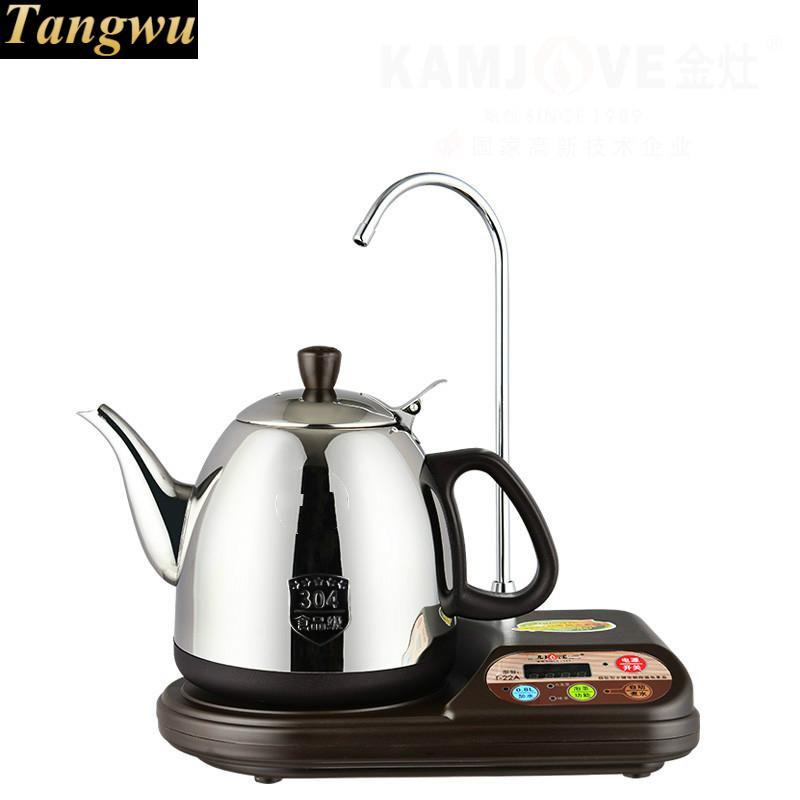 Automatic upper water electric kettle brewing tea stove automatic water filled electric kettle set of the tea with stove