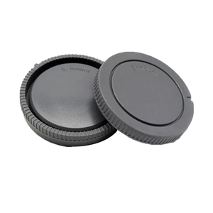 Image 2 - 50pairs/lot camera Body cap + Rear Lens Cap for Canon nikon Sony NEX for Pentax Olympus Micro M4/3 Panasonic M42 FD Camera Mount