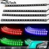 16 Colors Car Interior Light 12 LED Strips Atmosphere Led Ambient Light 72 LED Chip Set