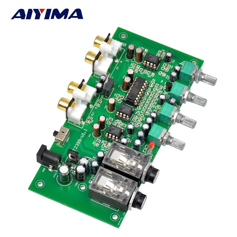 Placa amplificadora Aiyima PT2399 + JRC5532 PARA Karaoke