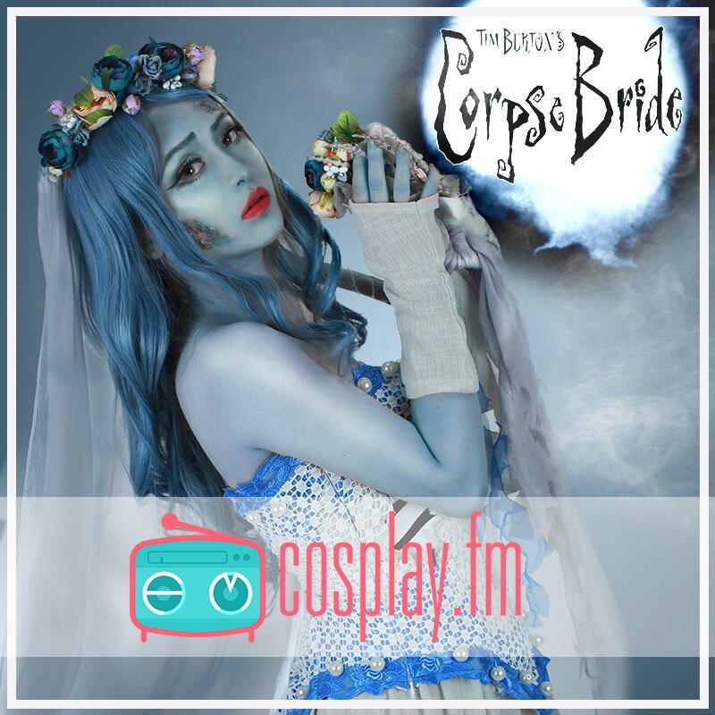 Ghost Bride Skeleton Cosplay Dress Halloween Costume halloween cosplay skeleton style costume black