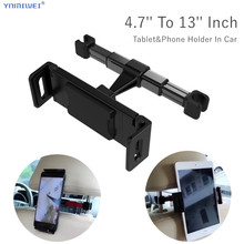 4.7-12.8'' inch Universal Car Tablet Phone Holder For iPad Pro 12.9'' 2018 Back