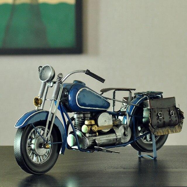 Vintage Motorcycle Road Race Car Interior Furnishing Mini Bar