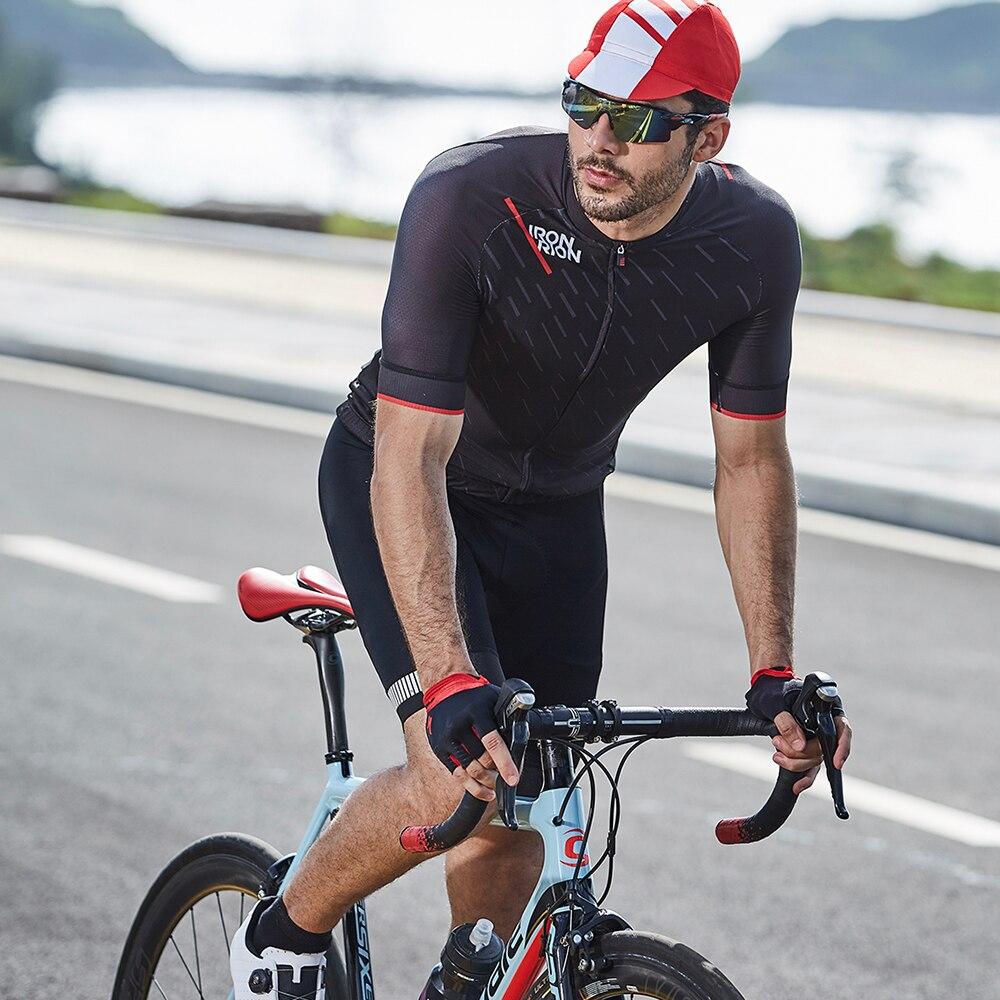 respirável gel acolchoado calças triathlon homem pro licra bicicleta sob o uso
