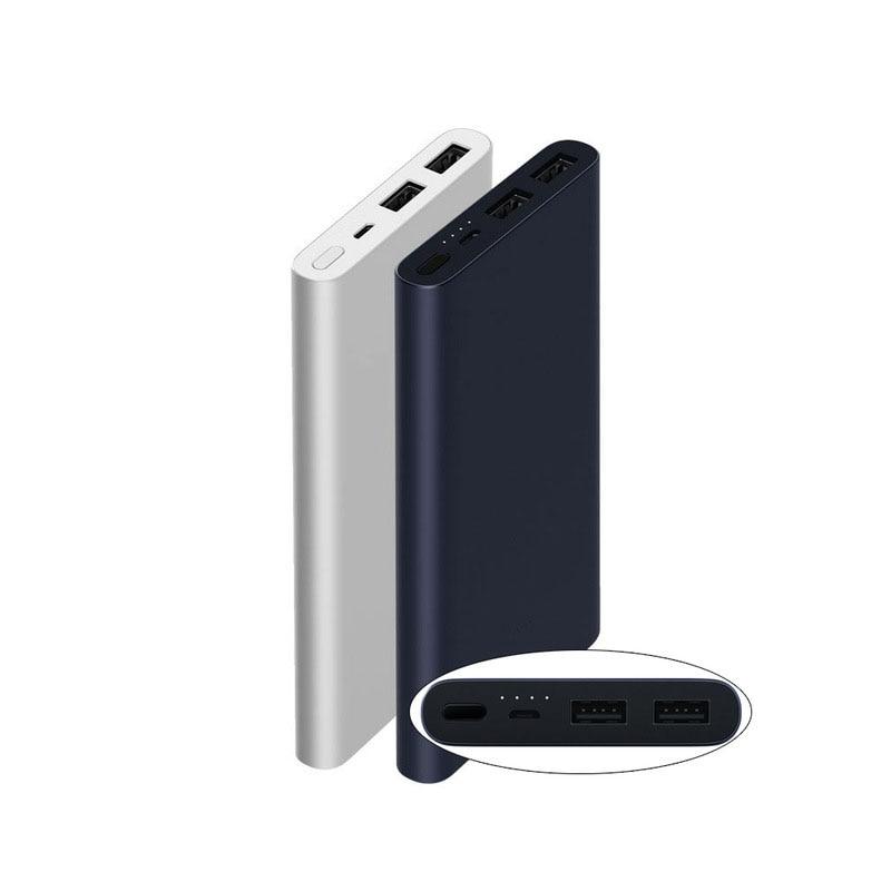 10000 mah Xiaomi Power Bank 2 Quick Charge Externe Batterie Unterstützung 5 v/9 v/12 v Max 15 watt für Android und iOS Handys
