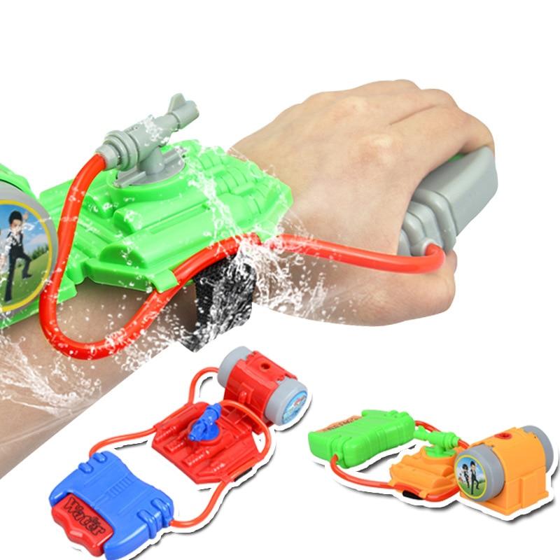 Funny Wrist Water Gun Outdoor Toys Plastic Gun Water-Sprinkling Summer Water Pistol Shooter For Swimming Pool Beach