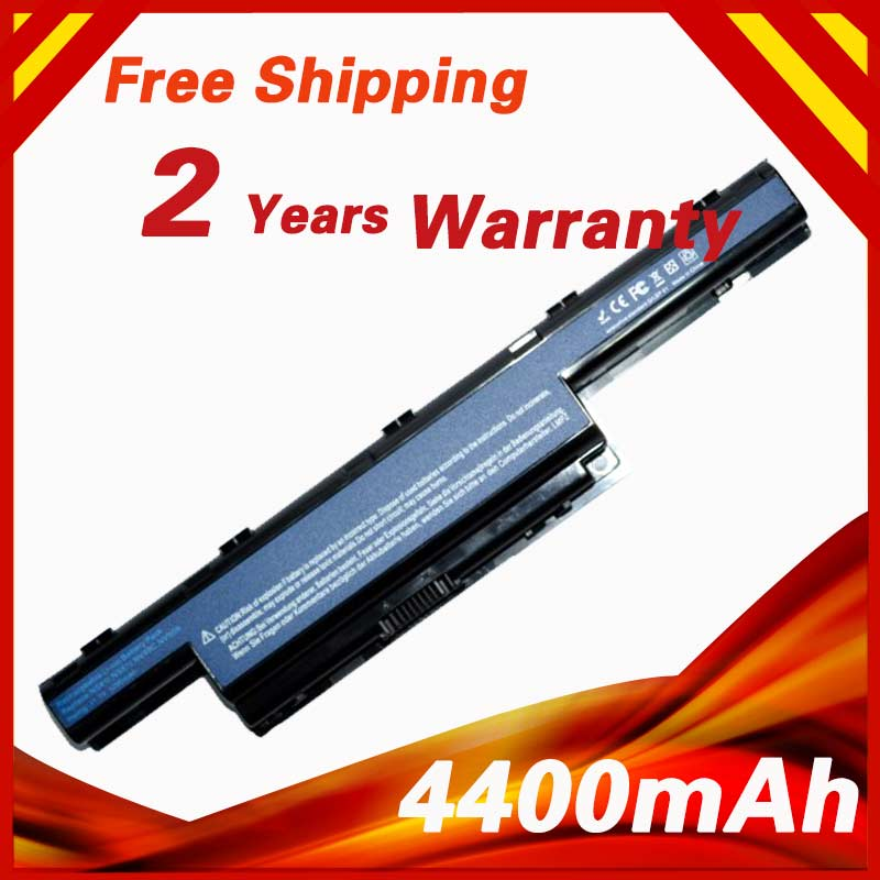 4400mAh Battery For Acer Aspire 5740 5744 6495 7740 7551 7741 7560 7750 TravelMate 8572 8573 AS10D61 AS10D71 AS10D41 AS10G3E