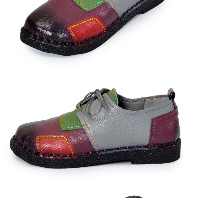 HTB1JP7TRpXXXXXnXVXXq6xXFXXX4 - Women's Handmade Genuine Leather Flat Lace Shoes-Women's Handmade Genuine Leather Flat Lace Shoes