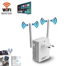 Wifi расширитель 2,4G Wifi ретранслятор расширение Wifi расширитель 300 м белый WiFi усилитель Wi Fi усилитель Точка доступа с большим диапазоном