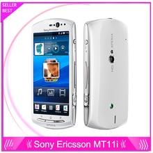MT11i Оригинальный Разблокирована Sony Ericsson Xperia Neo V Mt11 3G WI-FI GPS 5MP Камеры Сотового Телефона Бесплатная Доставка