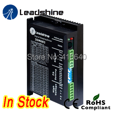 цена на 1 Piece Leadshine 3DM683 3-Phase 32-Bit DSP Digital Stepper Drive with 20-60 VDC Input Voltage and Max 8.3A Output Current